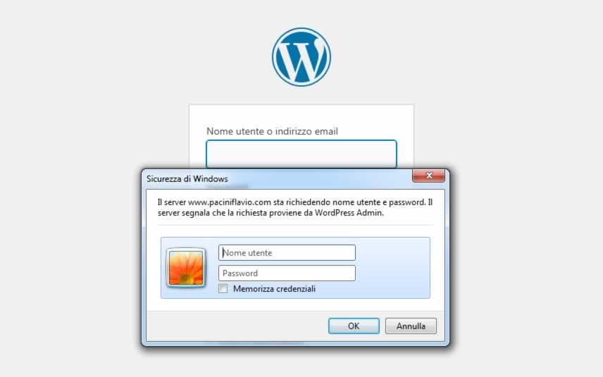Accesso di primo livello a WordPress