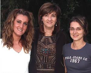 Arianna, Serena e Caterina di Apicoltura Compa