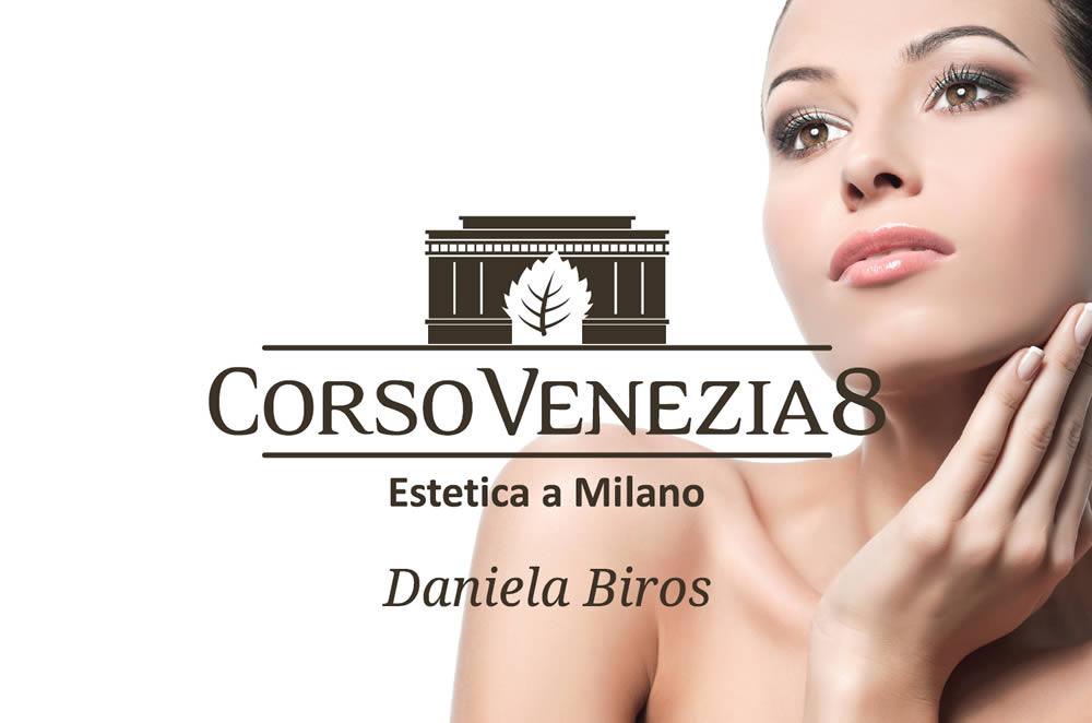 Biglietto da visita Corso Venezia 8 fronte