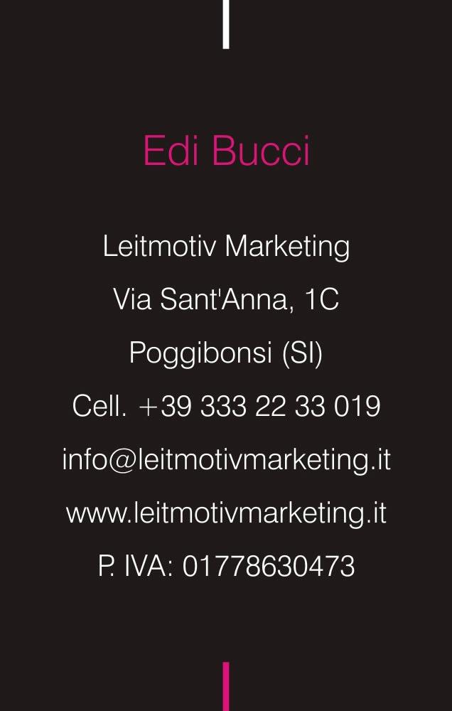 Retro biglietto Leitmotiv Marketing