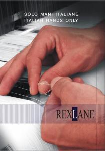 Brochure aziendale Rexlane
