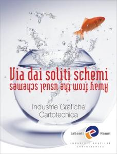 Folder pubblicitario Labanti e Nanni