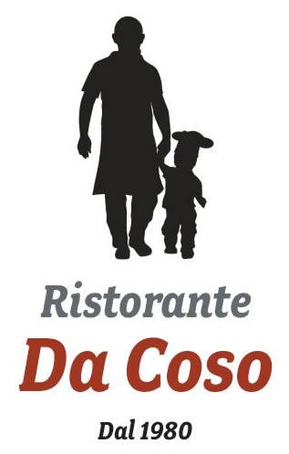 Logo Ristorante Da Coso verticale
