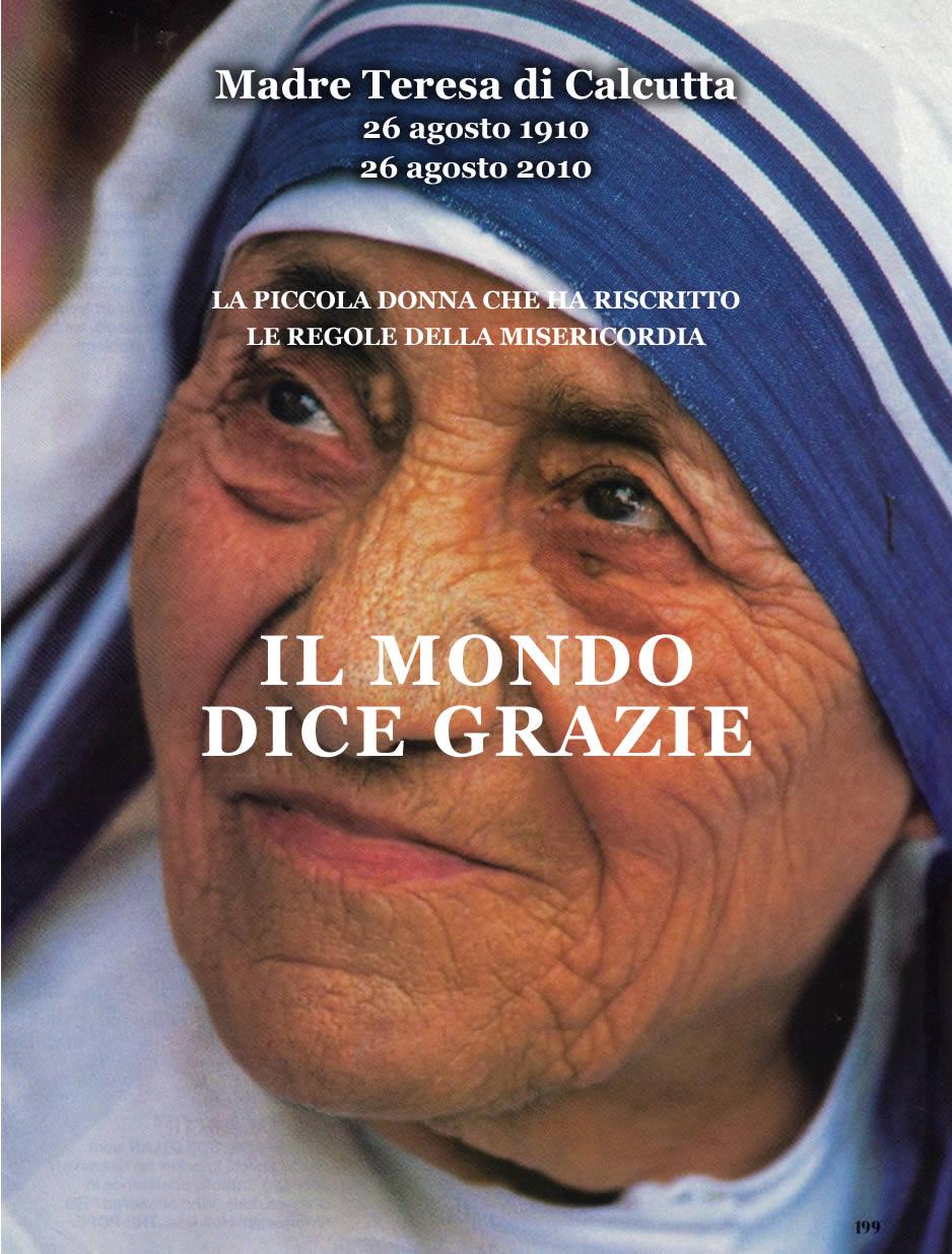 Foto di Madre Teresa di Calcutta