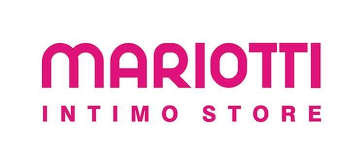 Logo Mariotti Store negativo