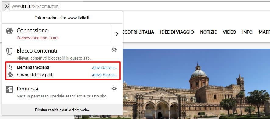 Impostare la navigazione anonima sul browser Chrome