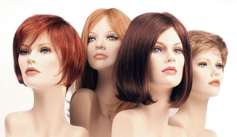 Parrucche donna in capelli veri