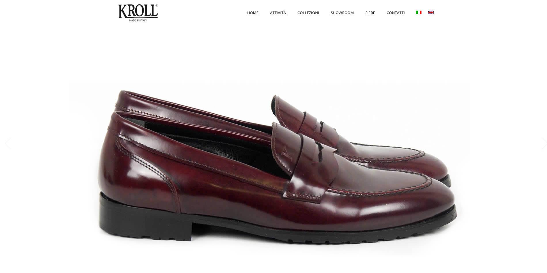 Restyling sito web Kroll