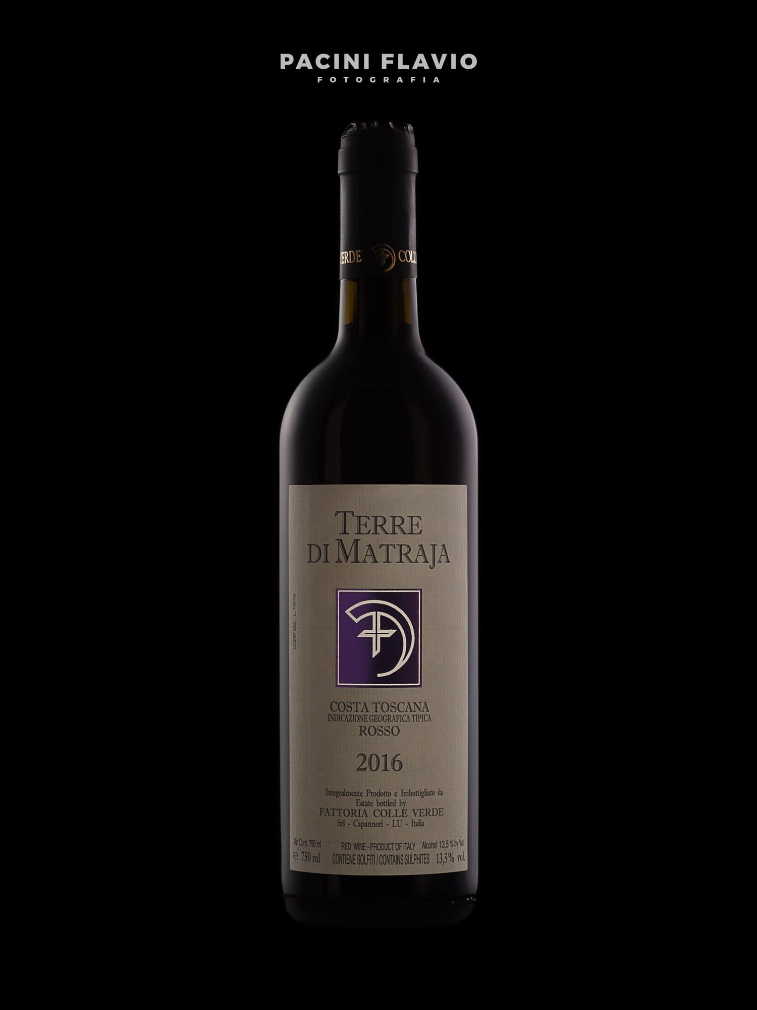 Fotografia bottiglie vino