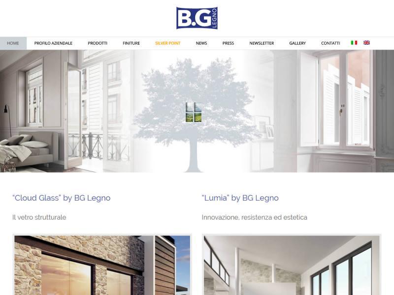 Sito web BG Legno