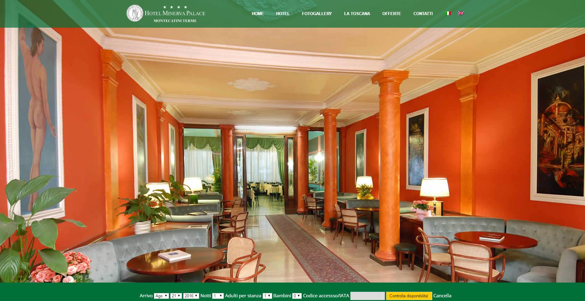 Sito Hotel Minerva Palace