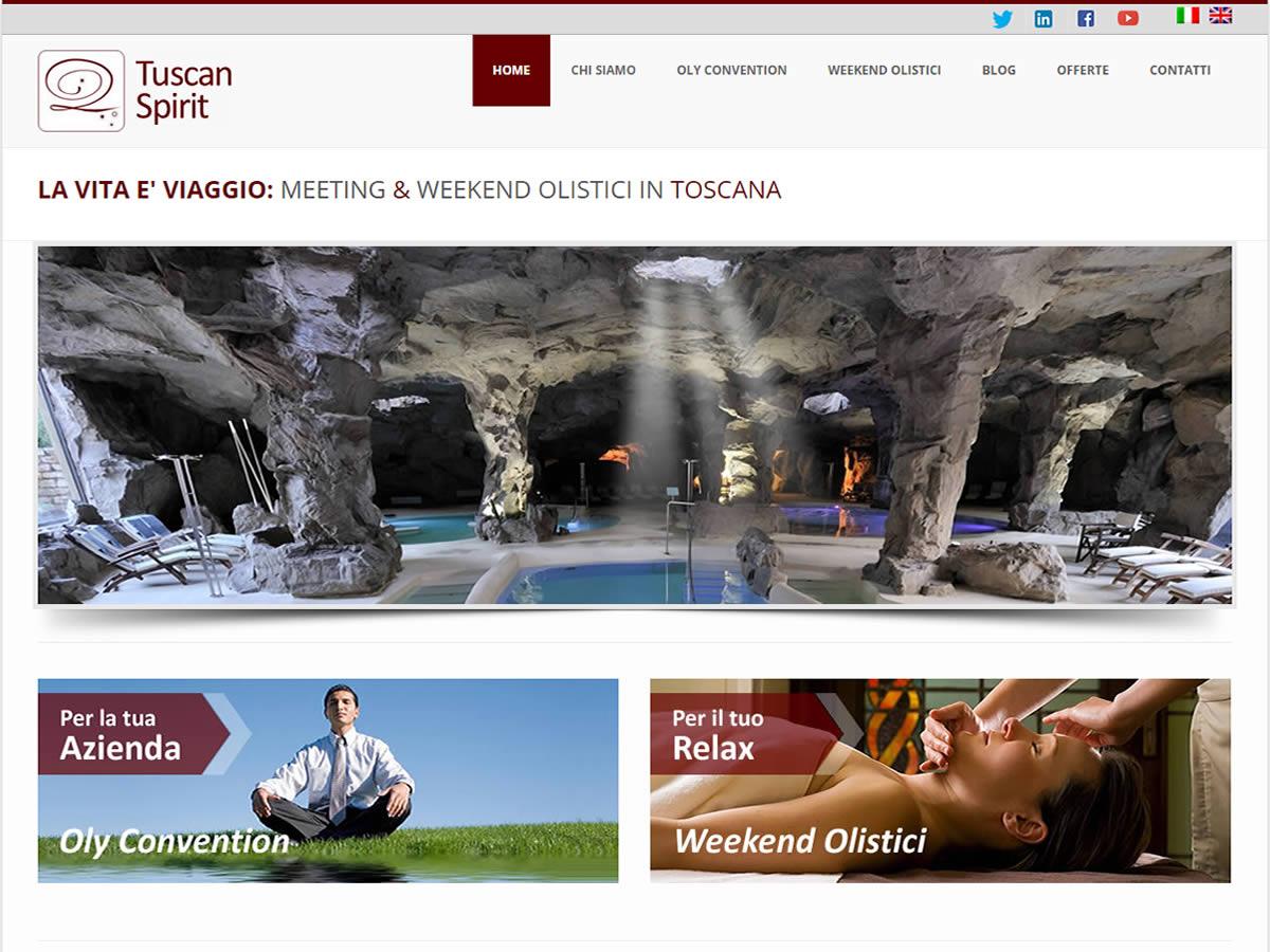 Sito web Tuscan Spirit