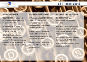 Seconda pagina brochure pdf